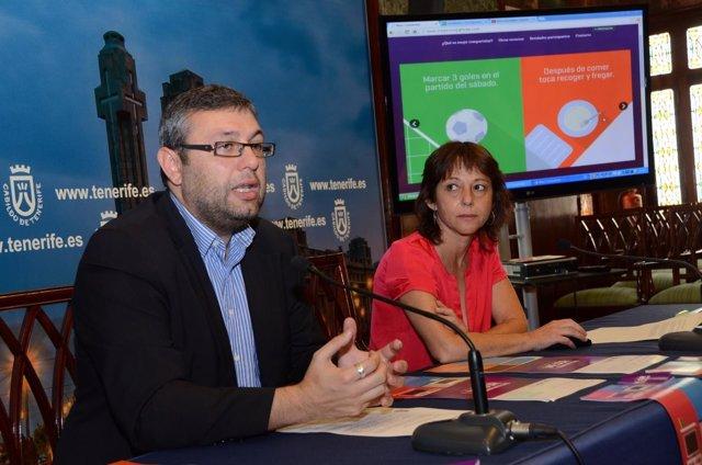 Miguel Ángel Pérez y Ana Peña