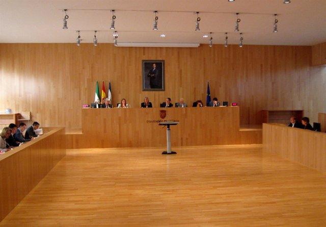 Pleno Diputación Málaga octubre extraordinario