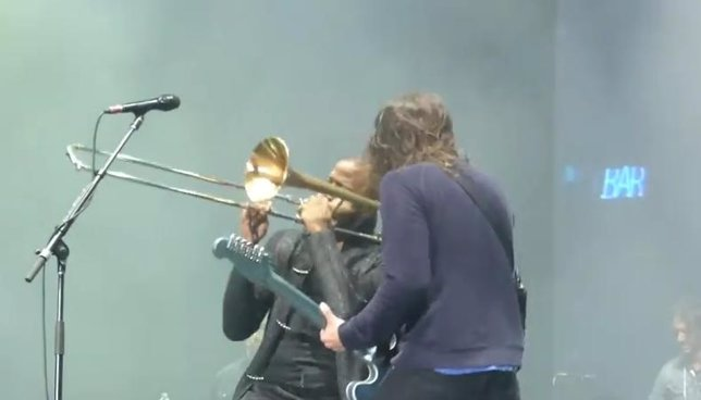 Dave Grohl y Trombone Shorty