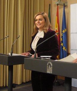 María Jesús Serrano, este martes