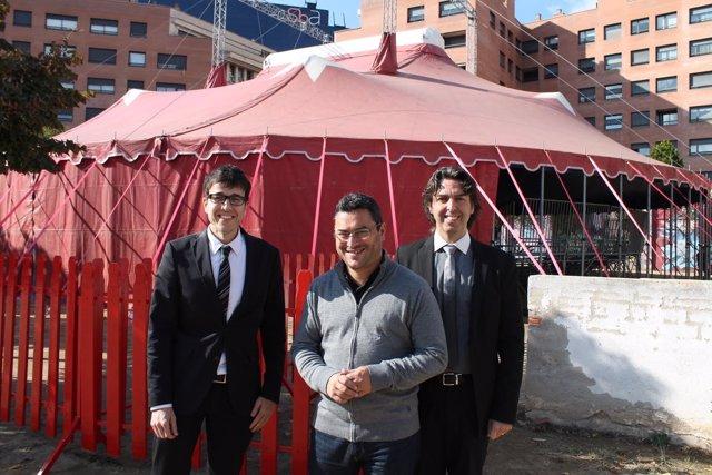 El circo La Vela se instala en el Estruch de Sabadell