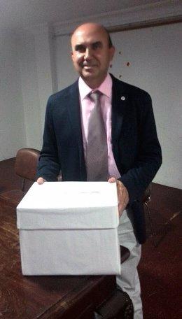 El presidente de Asocialoe, Pablo Peinado