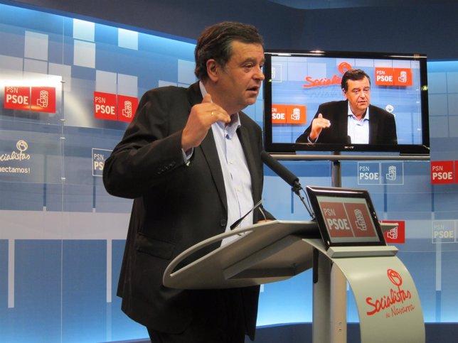 El parlamentario del PSN, Juan José Lizarbe.