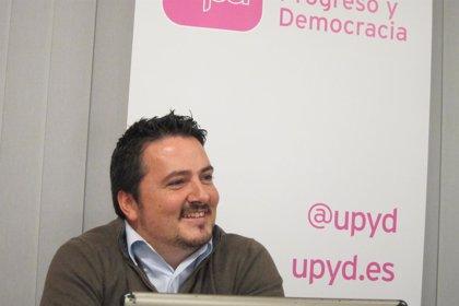 UPyD pide un programa de 30 millones para parados de más de 45 años y aumentar la inversión en 107 millones
