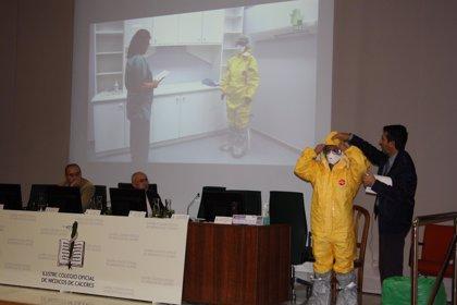 El Colegio de Médicos de Cáceres informa a sus profesionales sobre el virus de ébola