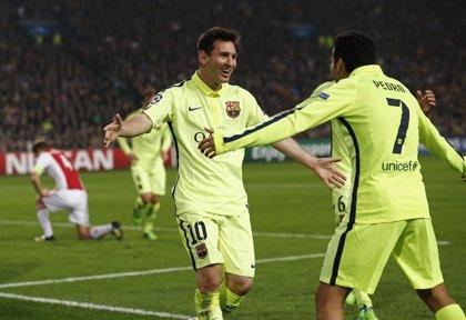 Messi iguala a Raúl como máximo goleador de la 'Champions'