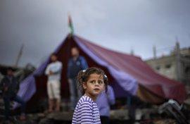 Fotos de Gaza, la vida entre el barro y las ruinas