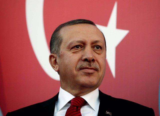 Primer Ministro turco, Tayyip Erdogan