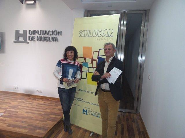 Elena Tobar y Rubén Barroso presentan 'Sinlugar'.
