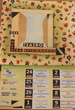 Cartel Teatro Aficionados