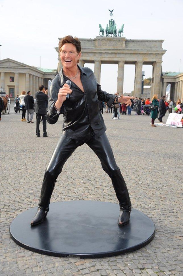 David Hasselhoff en Berlín