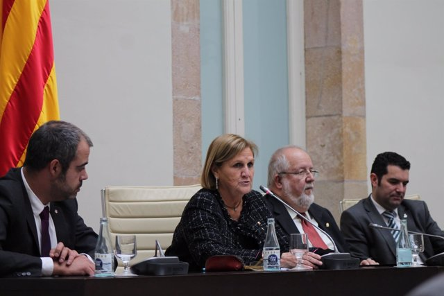 Miquel Buch, De Gispert, Salvador Esteve y Xavier Amor