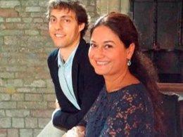Santiago Banda y Gloriana Casero.
