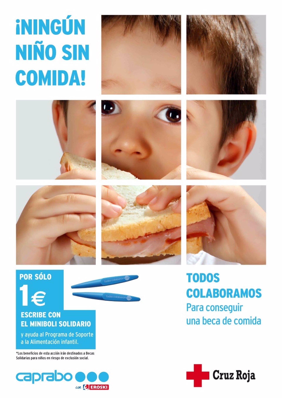 Caprabo y Cruz Roja recogen fondos para becas comedor a niños en ...
