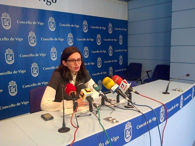 Iolanda Veloso, concejal del BNG en Vigo