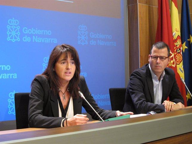 Marta Vera y José María Iribarren.