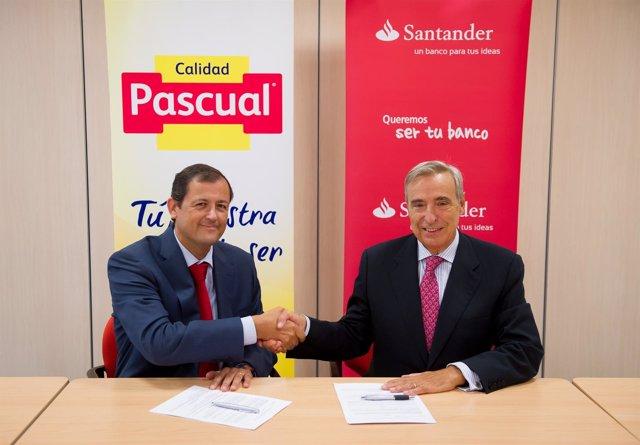 CALIDAD PASCUAL Y BANCO SANTANDER