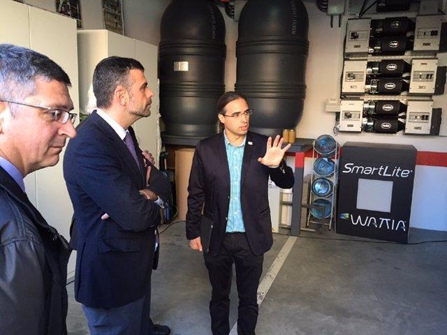 El conseller S.Vila presenta la Estrategia de Renovación Energética de Edificios