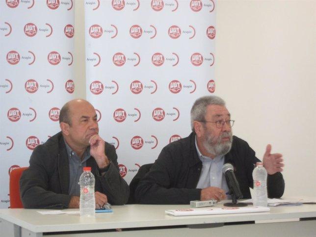 Daniel Alastuey y Cándido Méndez.