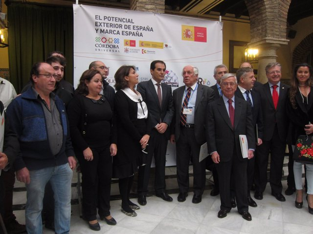 Inauguración de las jornadas de 'Marca España'