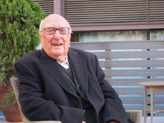 El escritor siciliano Andrea Camilleri