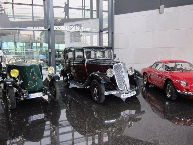 Exposición de vehículo histórico