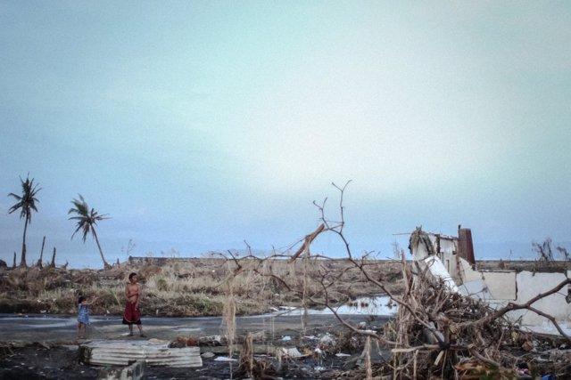 El tifón 'Yolanda' acabó con la vida de 6.300 filipinos hace un año