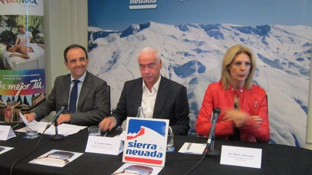 Presentación de la temporada de Sierra Nevada en Madrid