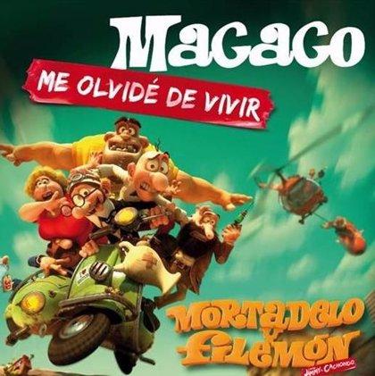 Macaco estrena la canción de 'Mortadelo y Filemón contra Jimmy El Cachondo'