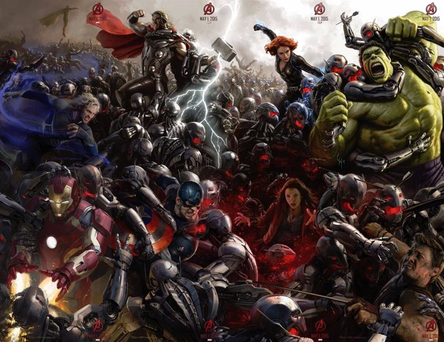 Cartel de Los Vengadores: La era de Ultrón