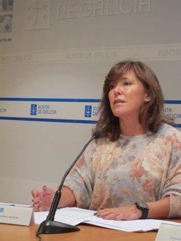La conselleira de Traballo, Beatriz Mato