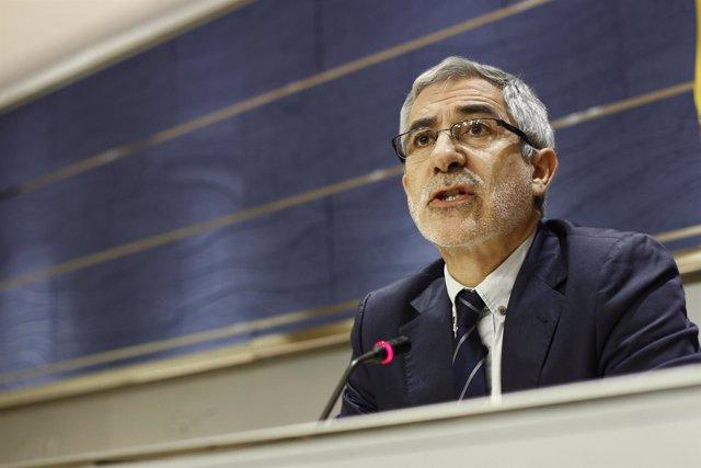 Gaspar Llamazares en el Congreso
