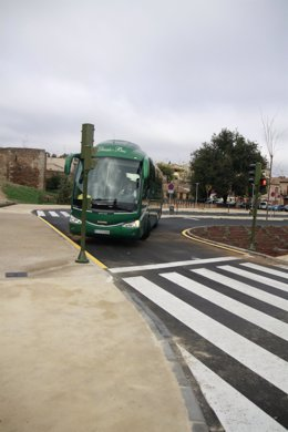 Safont, aparcamiento, autobús, dársenas