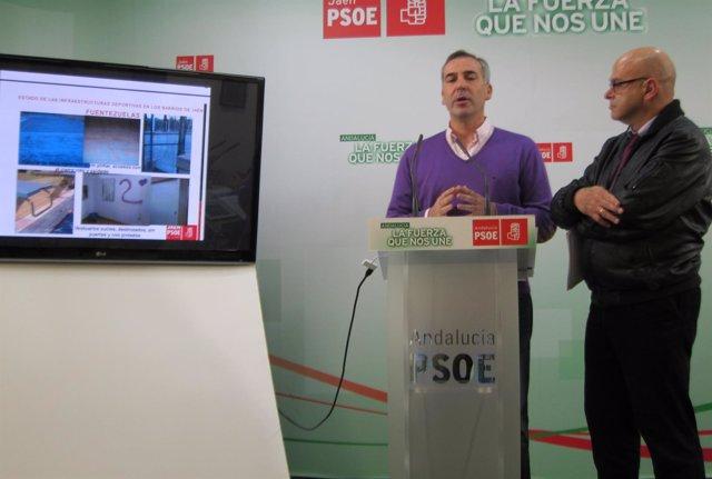 José Manuel Colmenero y Manuel Fernández