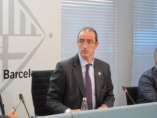 EL teniente de alcalde de Hábitat Urbano, Antoni Vives
