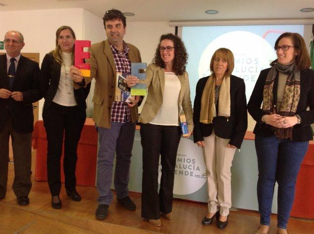 Entrega de los premios Andalucía Emprende en su fase provincial.