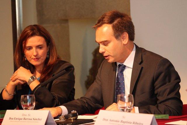 Enrique Barrasa y Elisa Cruz, directores generales de Acción Exterior y Turismo