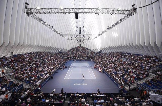 El Ágora Donde Se Disputa El Valencia Open 500 De Tenis