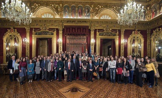Participantes en el congreso judicial.