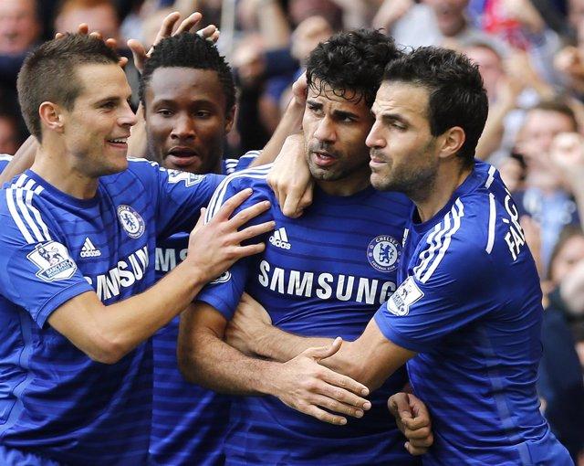 Chelsea, Diego Costa, Cesc Fàbregas