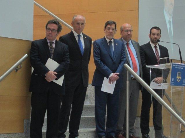 Juan Luis Ibarra, Juan Calparsoro y Josu Erkoreka