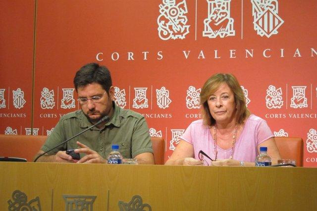 Ignacio Blanco y Marga Sanz en una imagen de archivo
