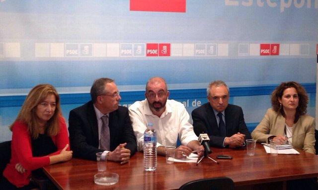 Martínez y Simancas, portavoces PSOE en Senado y Congreso, Valadez Estepona