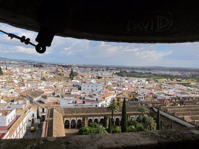 Una de las vistas que ofrece la torre de la Mezquita-Catedral