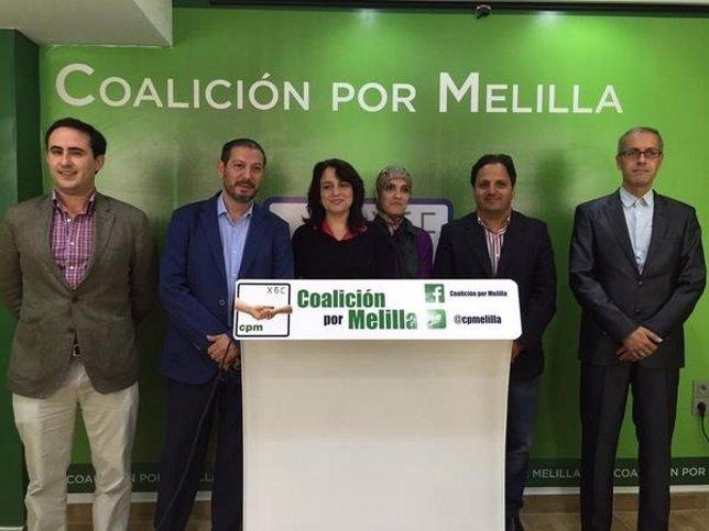 Coalición Por Melilla inaugura nueva sede