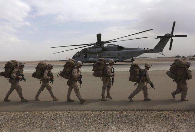 Soldados de EEUU en Afganistán