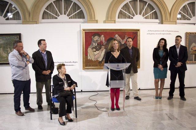 Inauguración de la muestra sobre Capuleto en Almería