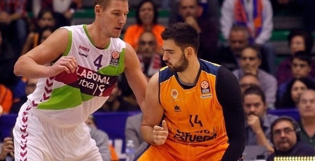 Valencia Basket y Laboral Kutxa se miden en Euroliga