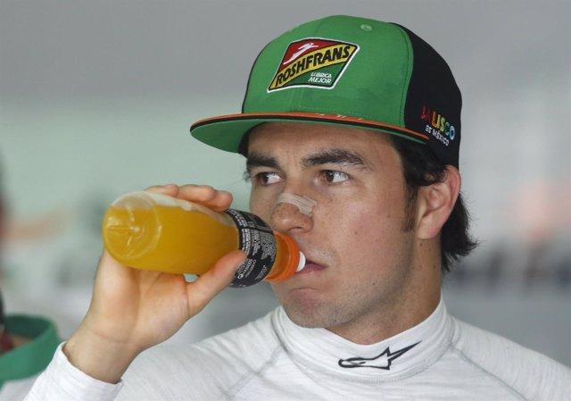 El piloto mexicano de Fórmula 1 Sergio Pérez