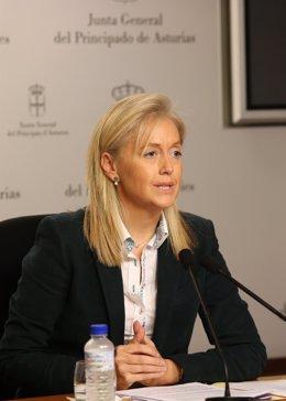 Cristina Coto, portavoz de Foro Asturias en la JGPA
